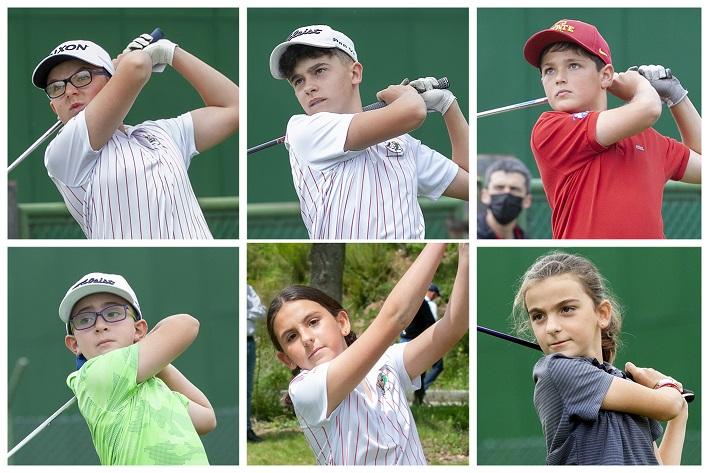 Pablo Sordo, Alejandro Sal, José Antonio Salas, Ismael Mateo, Lucía González y Marina González
