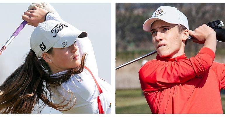 Natalia Rodríguez y Omar Gómez disputarán los Campeonatos de España Sub 16 Femenino y Masculino 2021